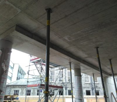 Soffit To Main Entrance